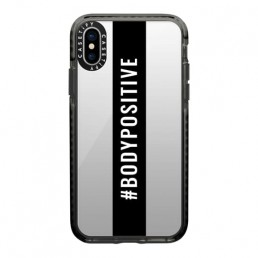 Apple iPhone case with bodypositive hashtag