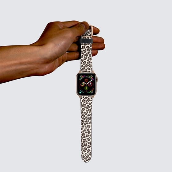 Leopard Apple Watch Band Esther Van Der Drift