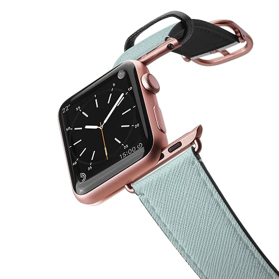 Apple Watch band in mint color