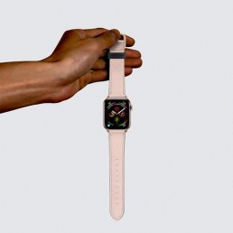 Apple Watch band in pink color