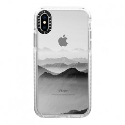 Apple iPhone case with mountain design